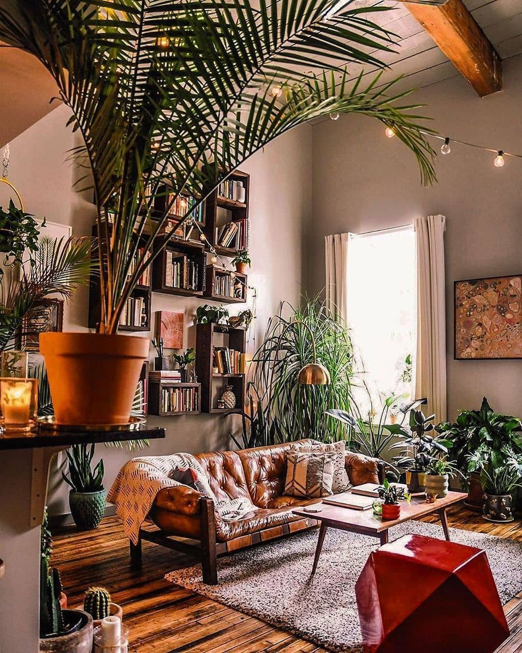 34 The Best Rustic Bohemian Living Room Decor Ideas Homyhomee Bohemian Living Room Decor Bohemian Living Room Hippie Living Room