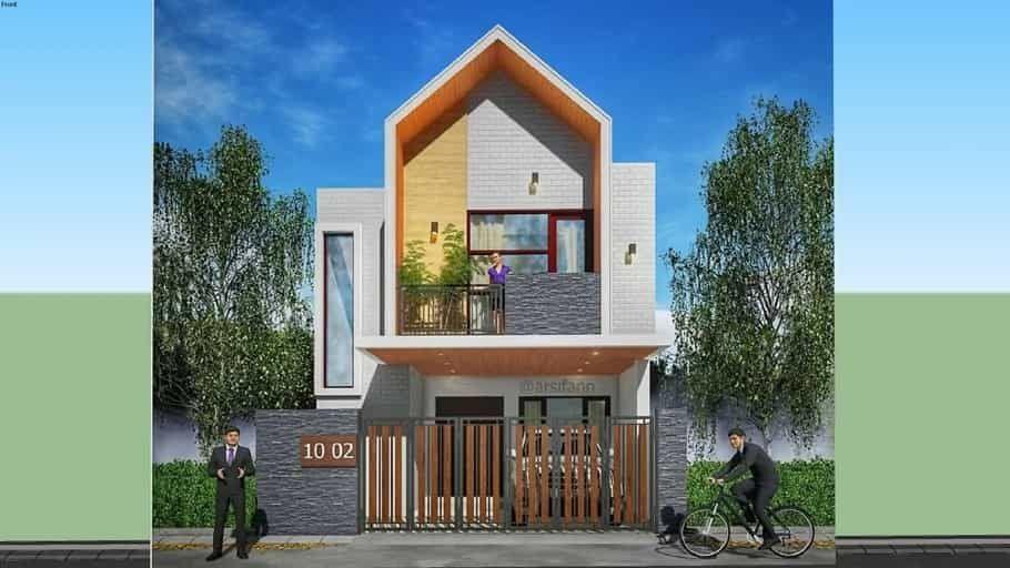 Rumah Scandinavian 2 Lantai Skp Di 2020 Desain Rumah Lantai Rumah Minimalis