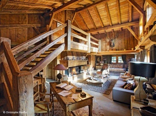 Visite chalet typique 2 | Dream Moutain Home | Pinterest | Chalet ...