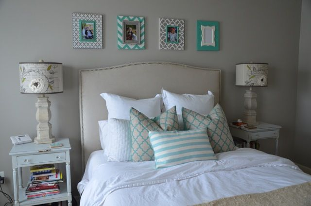 Teal, Cream & Light Grey Color Palette For A Teen's BR
