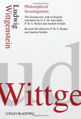 Philosophical Investigations By Ludwig Wittgenstein Http Www Amazon Com Dp 1405159286 Ref Cm Sw R Pi Dp Philosophy Books Ludwig Wittgenstein Investigations