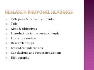 Writing A Research Proposal  Healthpsychtam  Research Proposals