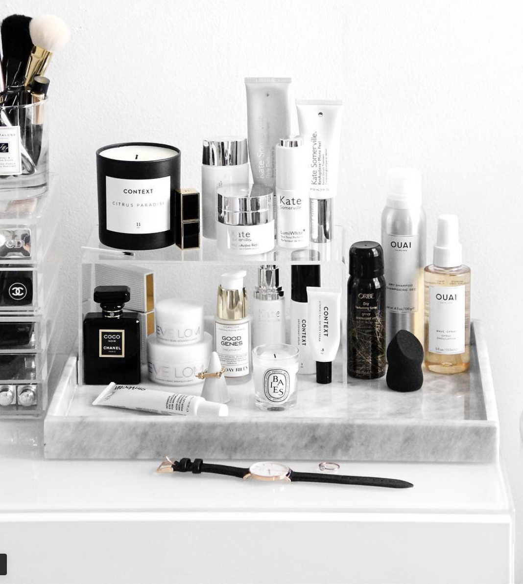 14 Rose Beauty Products That Are So Soothing Small Bedroom Storage Makeup Storage Beauty Storage