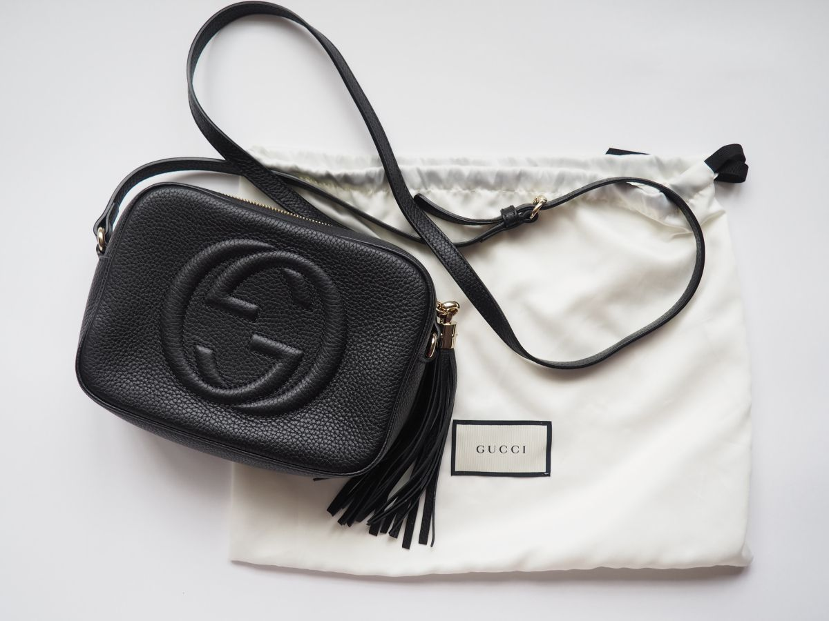 98045cbe11b I was lucky enough to get the Gucci Soho Disco bag as a gift from my  parents for Christmas and I am so unbelievably grateful and I have used it  pretty much ...