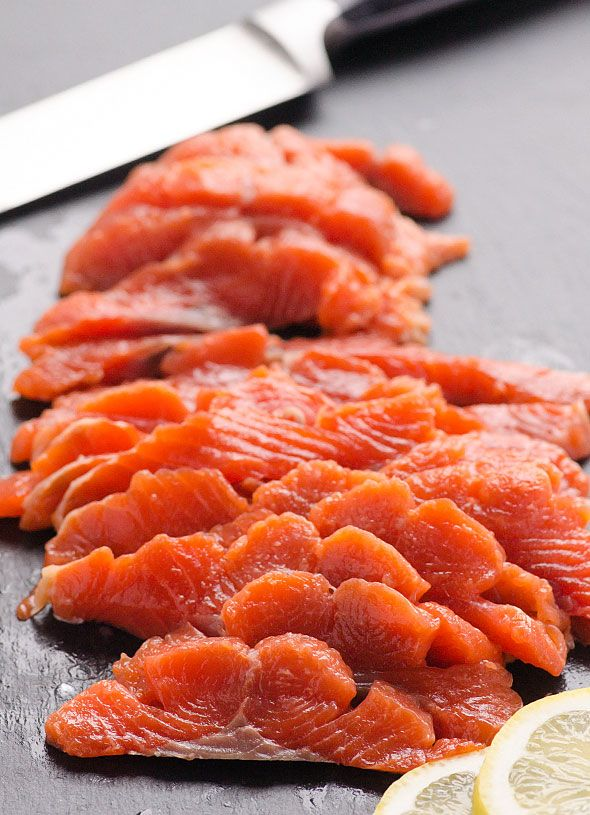 Salmon Lox Recipe or how to cure salmon at home. Make homemade lox with 4 simple ingredients. | ifoodreal.com