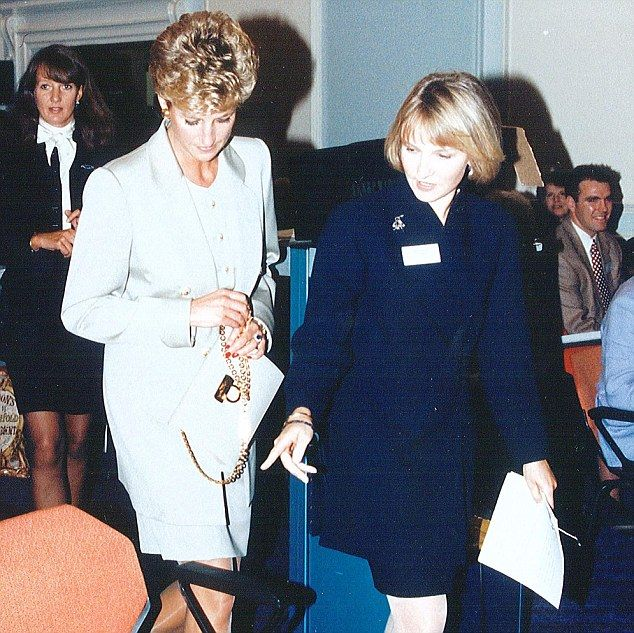 Princess Diana by her friend Julia Samuel 'There was