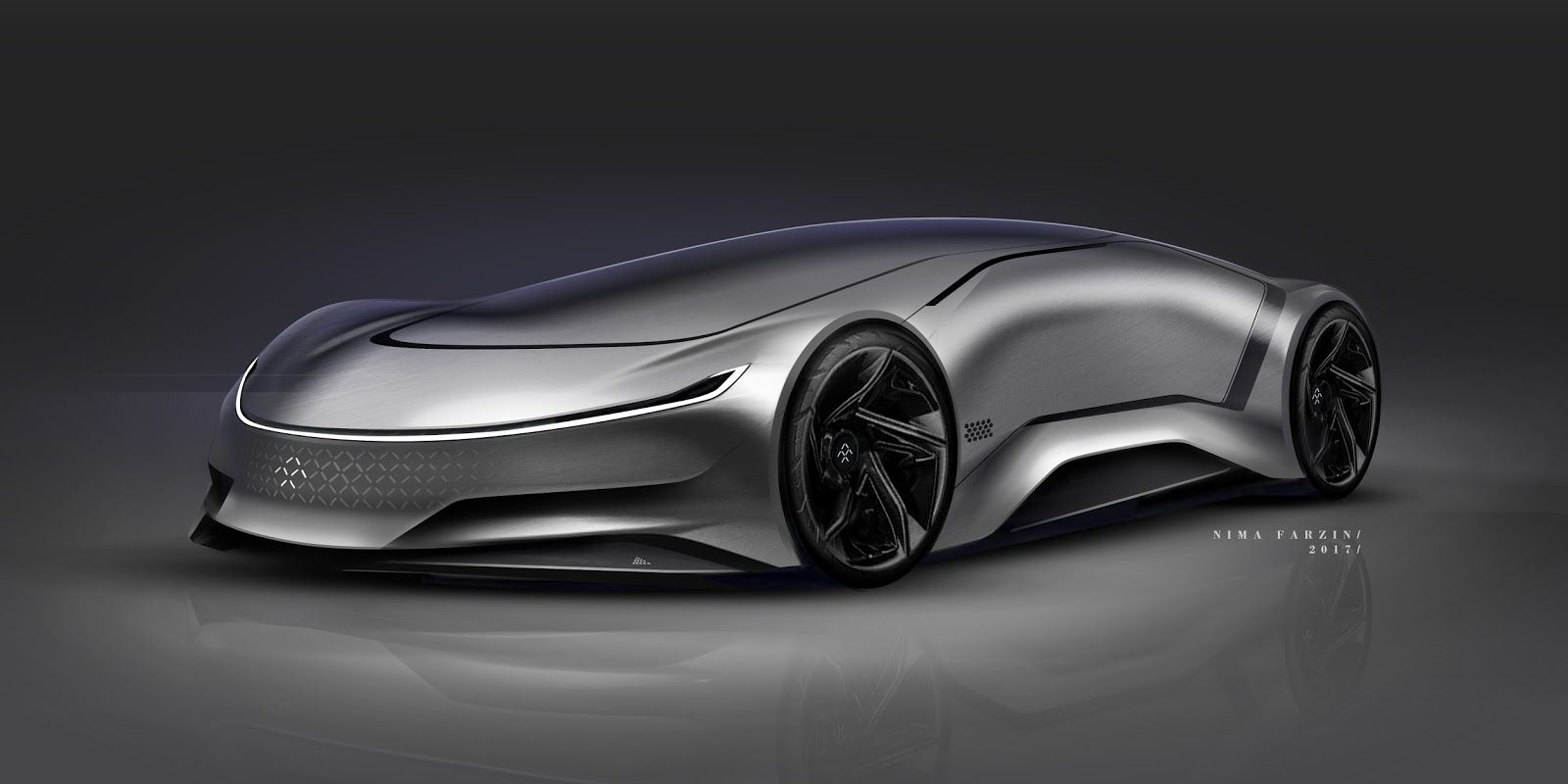 Stunning Sketches From Nima Farzin Concept cars, Car