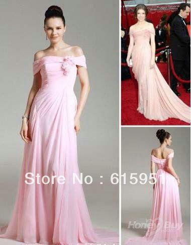 Sexy Red Carpet Oscar Dresses   ... Off-Shoulder-Sexy-Slit-Pink-Oscar-Red-Carpet-Celebrity-Dress-JY825.jpg