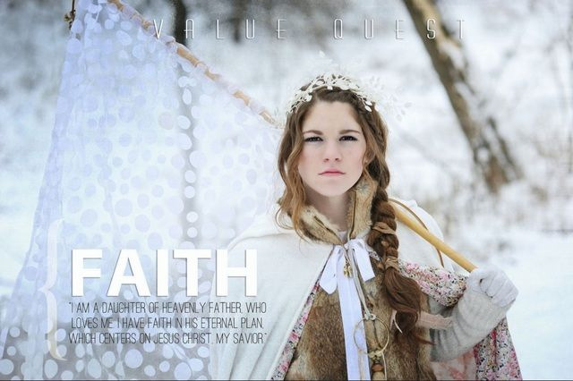 Lds Quotes For Youth: LDS Photographer Brings Young Women's Values To Life With