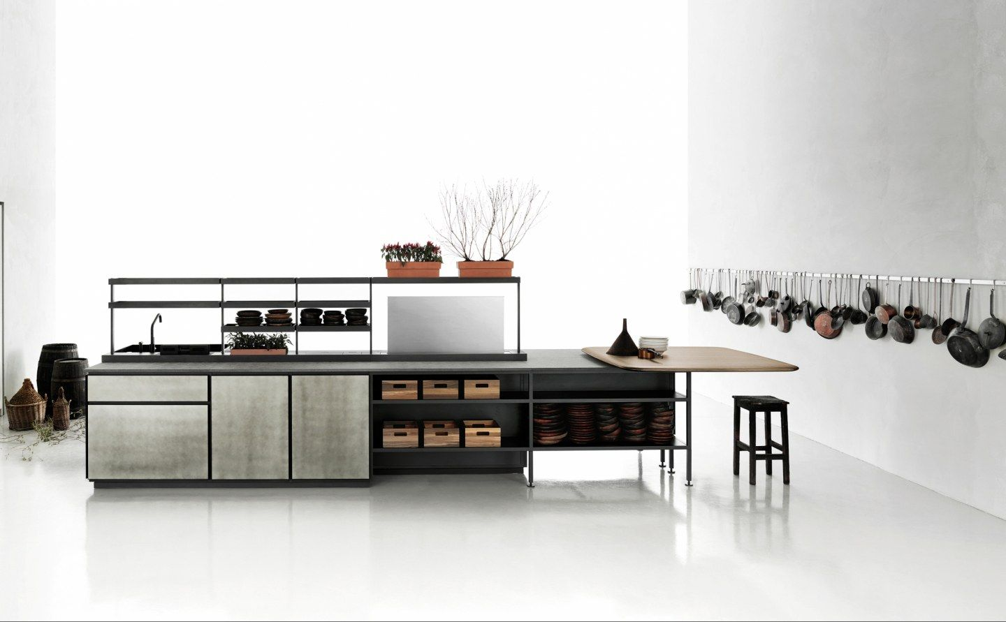 Salinas Cucine Boffi Official Website 画像あり キッチン