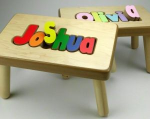 Personalized puzzle stool baby pinterest personalized puzzles personalized puzzle stool personalized baby giftspersonalized negle Images