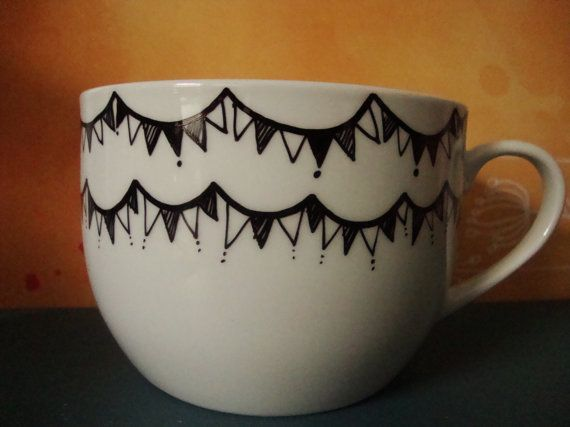 Bunting Soup Cup