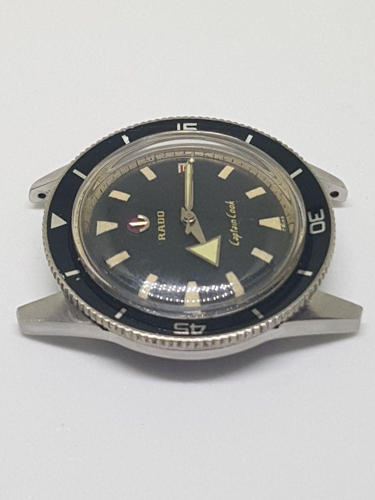 Very Rare Rado Captain Cook Mk1 Vintage Diver Radocaptaincookmk1