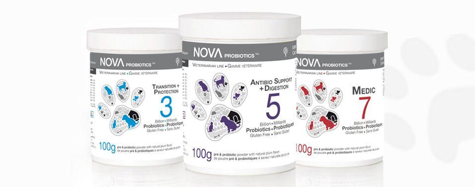Veterinary line Gamme vétérinaire Probiotics