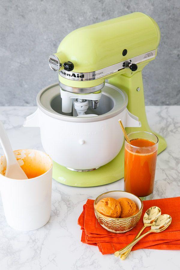 Kitchenaid Stand Mixer Ice Cream Maker Attachment In 2021 Kitchen Aid Kitchen Aid Mixer Kitchenaid Stand Mixer