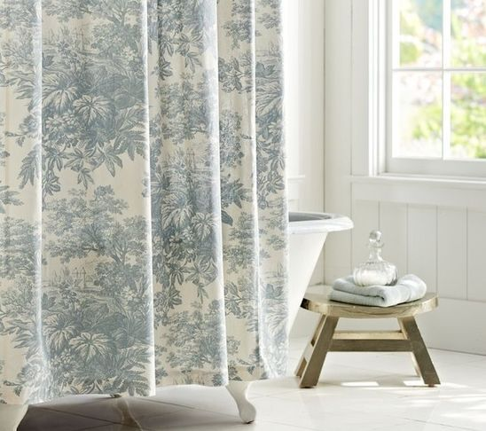 Matine Toile Shower Curtain