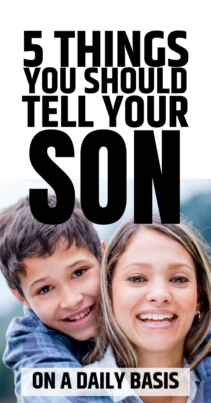Photo of Here are 5 things you should tell your son every day to build trust and help him…