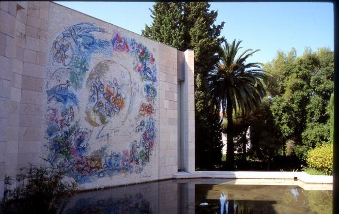 Musée Chagall - Les musées nationaux, Nice, France