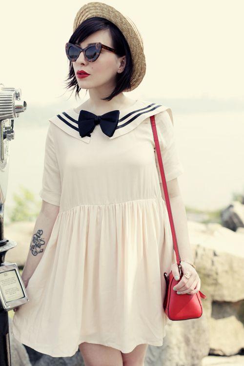 love keiko's sailor girl outfit!