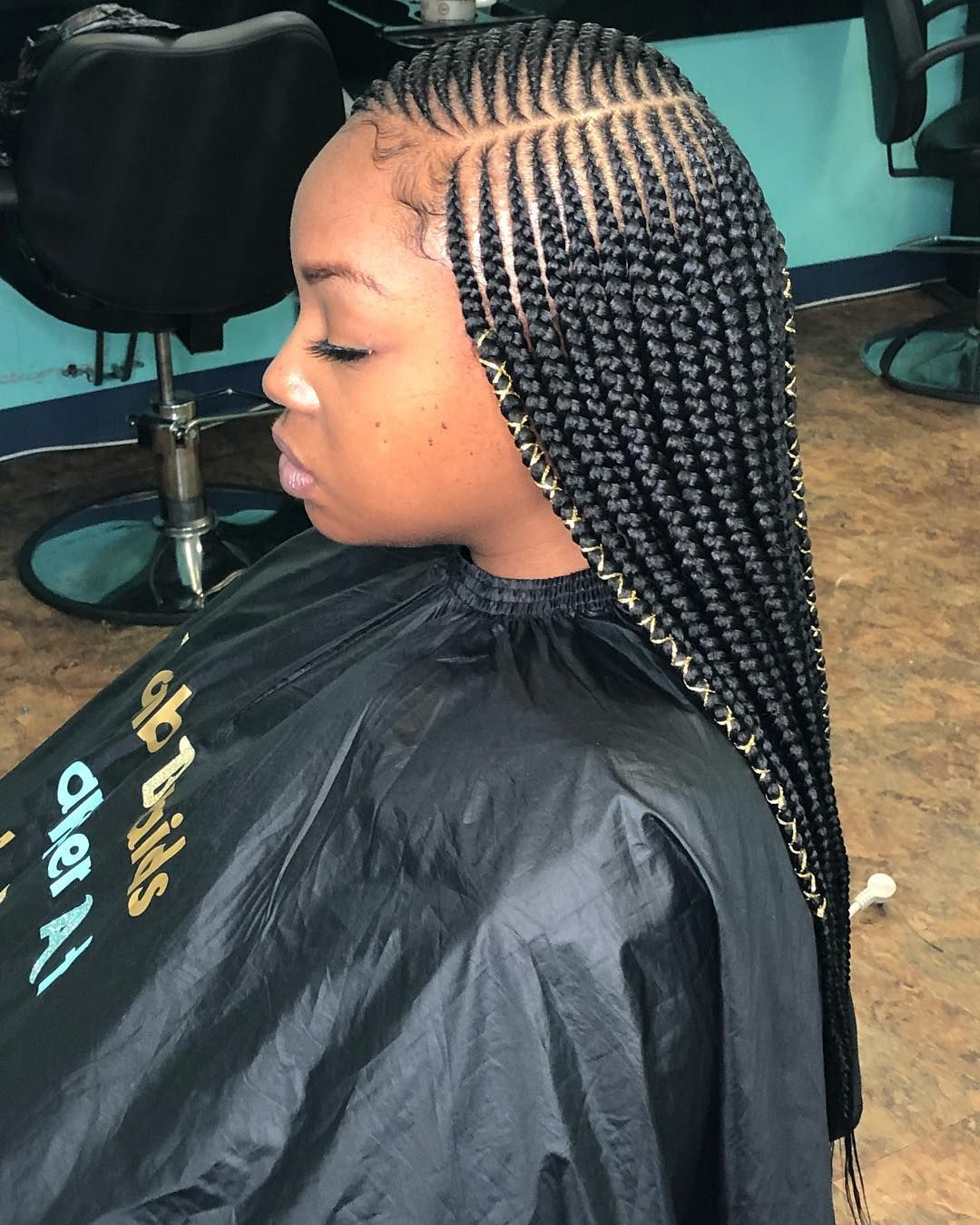 image may contain: 1 person   braid styles in 2019   braided