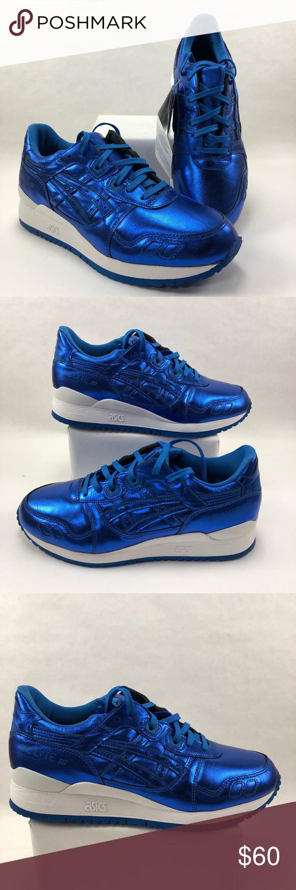 Chaussures NWT 10073 ASICS GEL Lyte | III RUNNING Femmes Bleu NWT | 8a36eb3 - pandorajewelrys70offclearance.website