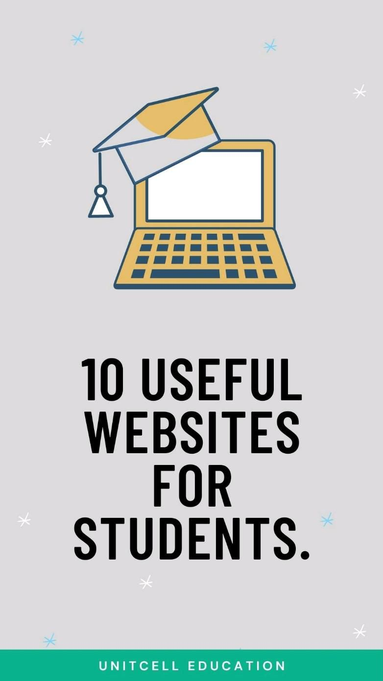 10 useful websites for students.