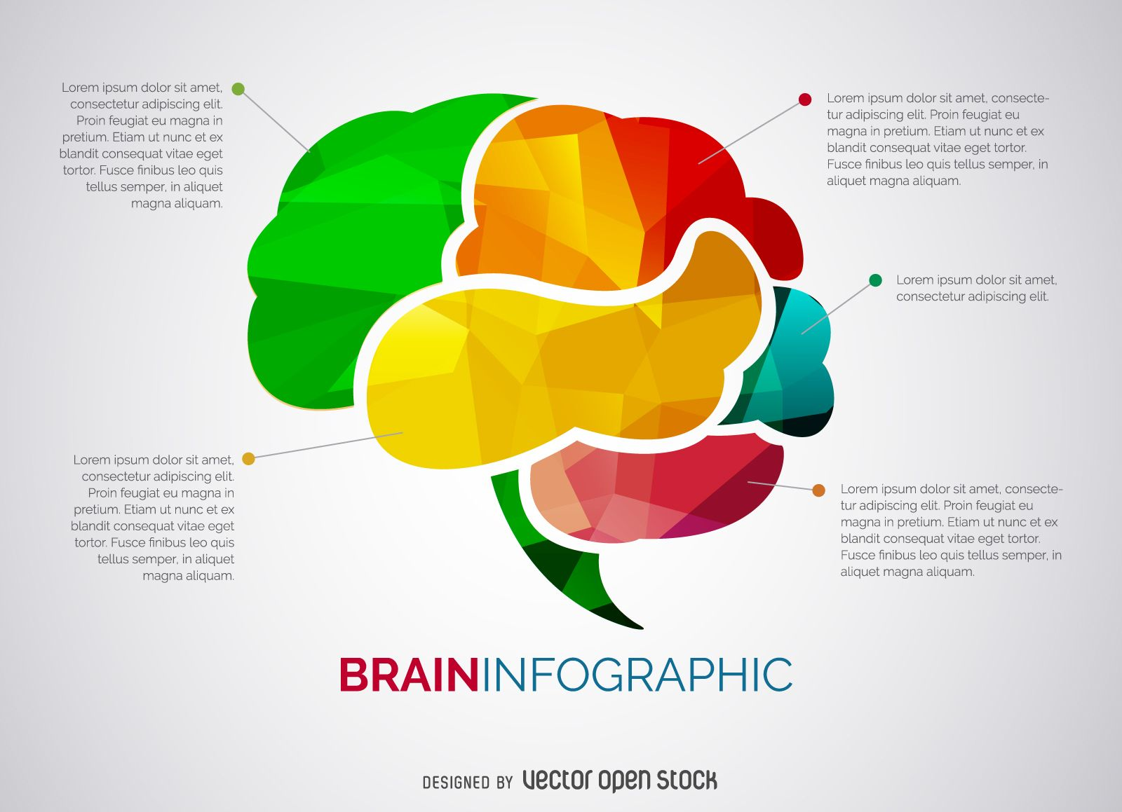Brain Infographic Template Vector Idea With Light Bulb For Creative Diagram Infographics And Resources Pinterest
