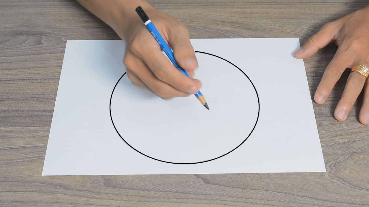 How To Draw A Perfect Circle Without Compass A Perfect Circle Circle Drawings