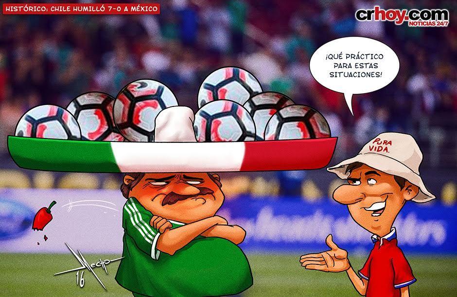Histórico: Chile humilló 7-0 a México