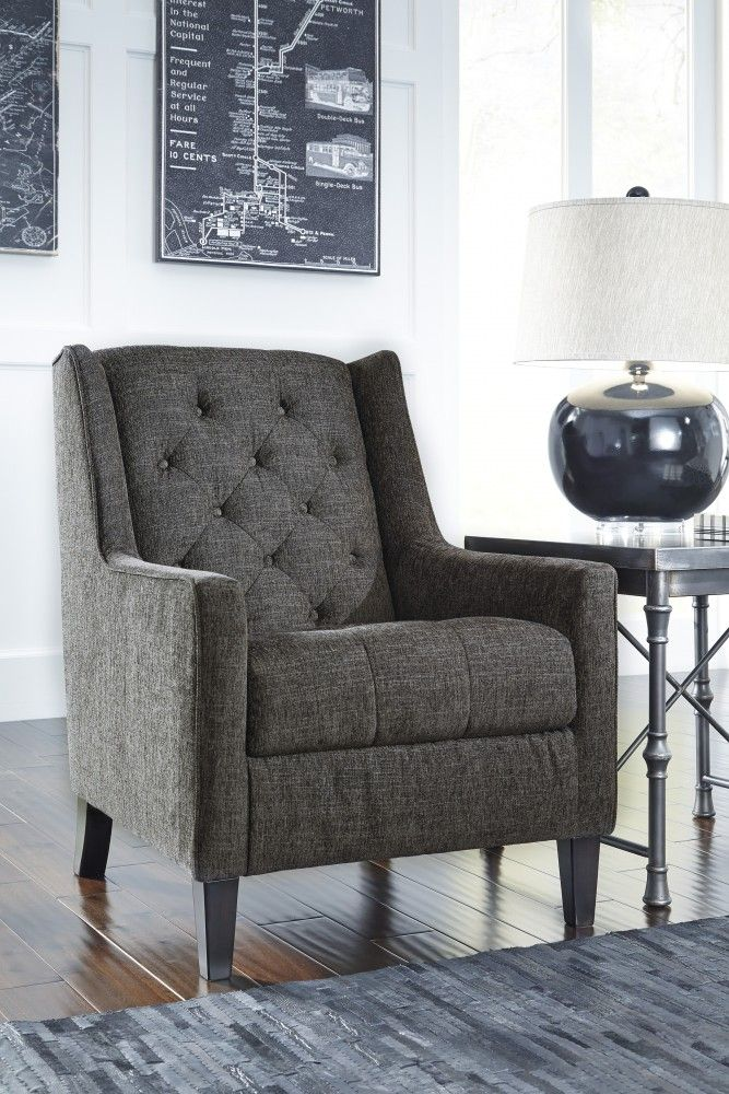 Ardenboro Accents Charcoal Accent Chair Ashley Furniture