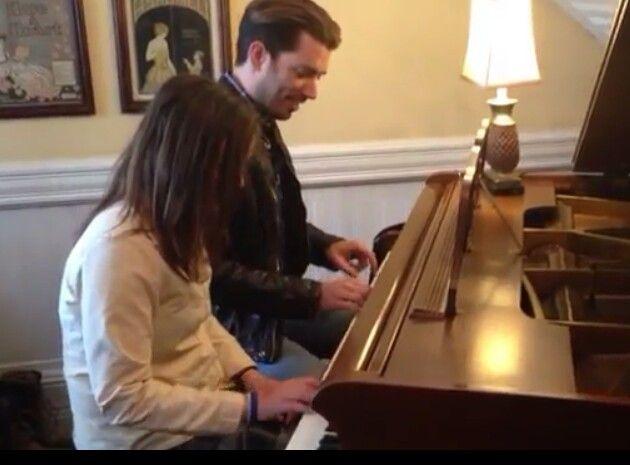 Jonathan playing piano...