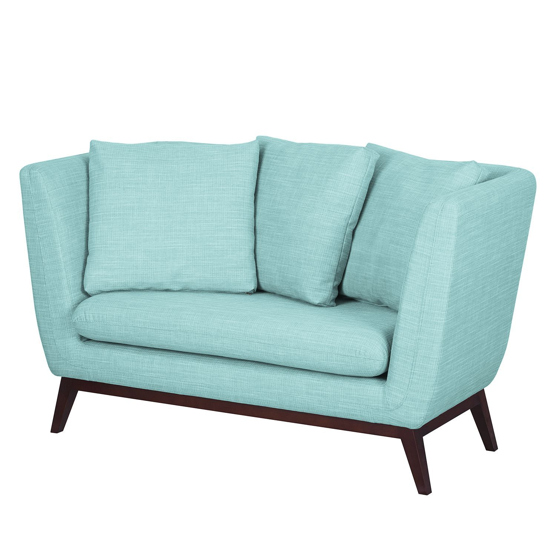 Wundervoll Couch Hellblau Dekoration Von Sofa Sagone (2-sitzer) - Webstoff - Hellblau,