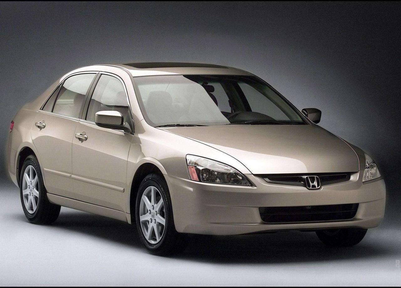 2003 Honda Accord Sedan Honda Accord Honda Accord Ex Sedan
