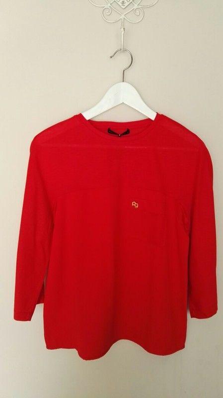 Camiseta Purificación García Roja  b48f3edfe03