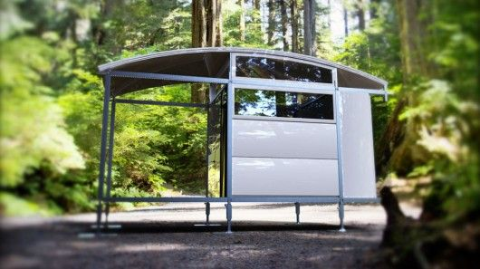 """AbleNook is a new prefabricated living prototype that """"snaps together"""" in a matter of hour..."""
