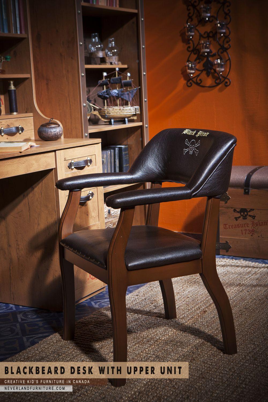 Desk with Upper Unit for Kids Bedroom at Neverland