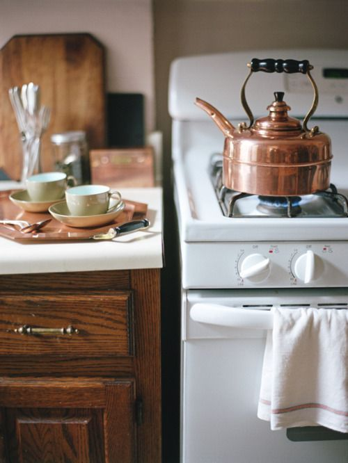 Cozy Kitchen And A Copper Kettle Kitchen Love In 2019