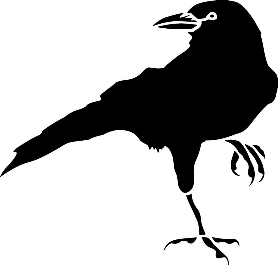 crow drawing clipart free to use clip art resource ravens rh pinterest com