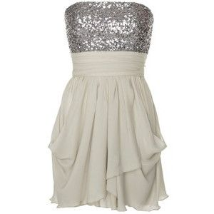Silver top with a white bottom | dresses | Pinterest | Teen ...