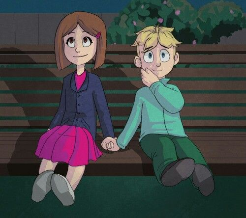Butters and Charlotte are so cute together  He just fell in