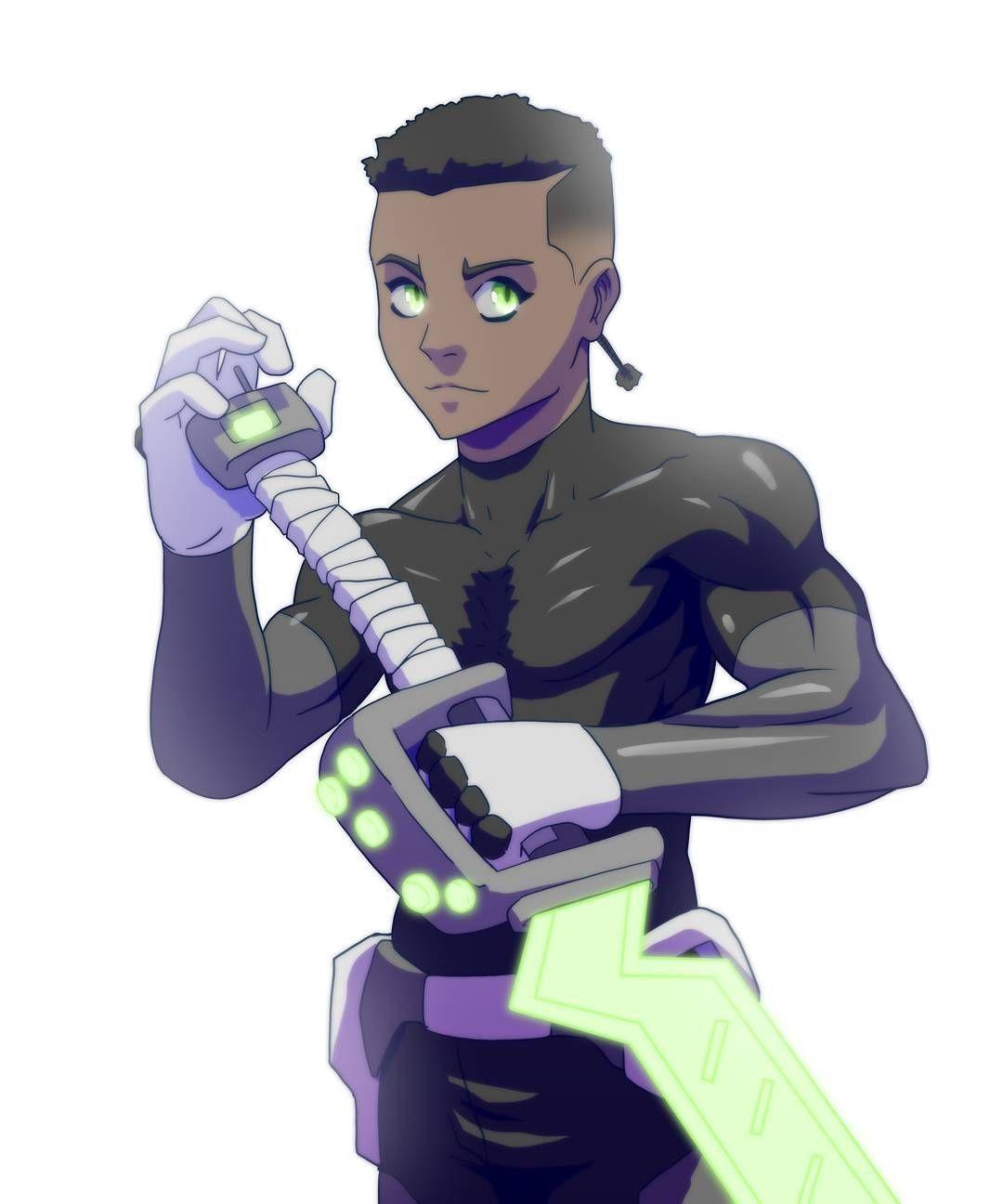 anime characters dark skin manga dope character female instagram animedrawing comics toney artwork superhero afro guy visit mclaughlin aaron skins