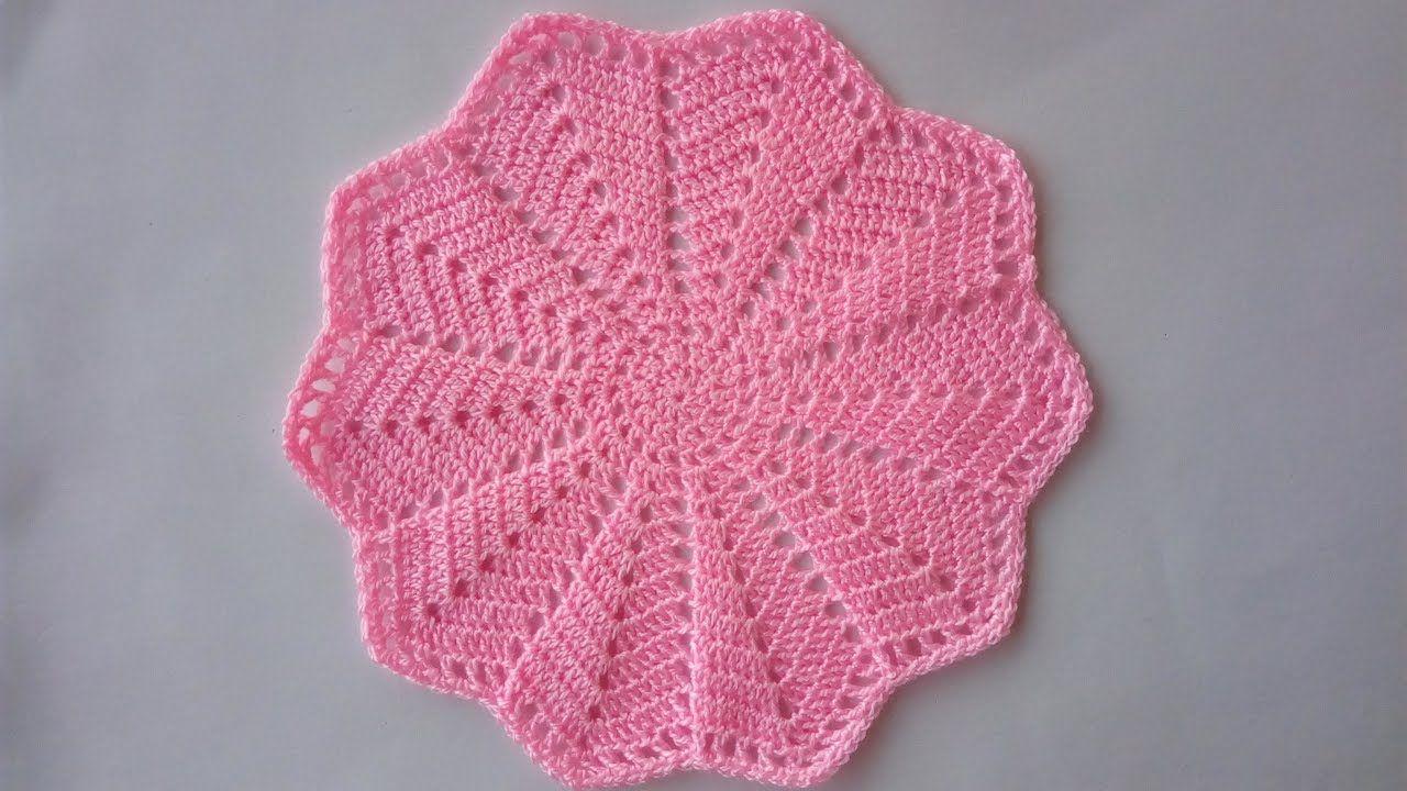 Centrino Uncinetto Facile Tutorial Doily Crochet Centro De Mesa Crochet Uncinetto Uncinetto Facile Lavoro All Uncinetto