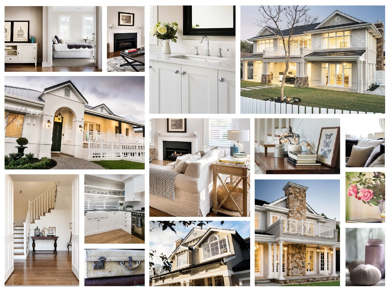 Hampton style homes luxury homes perth oswald homes for Hamptons beach house interiors
