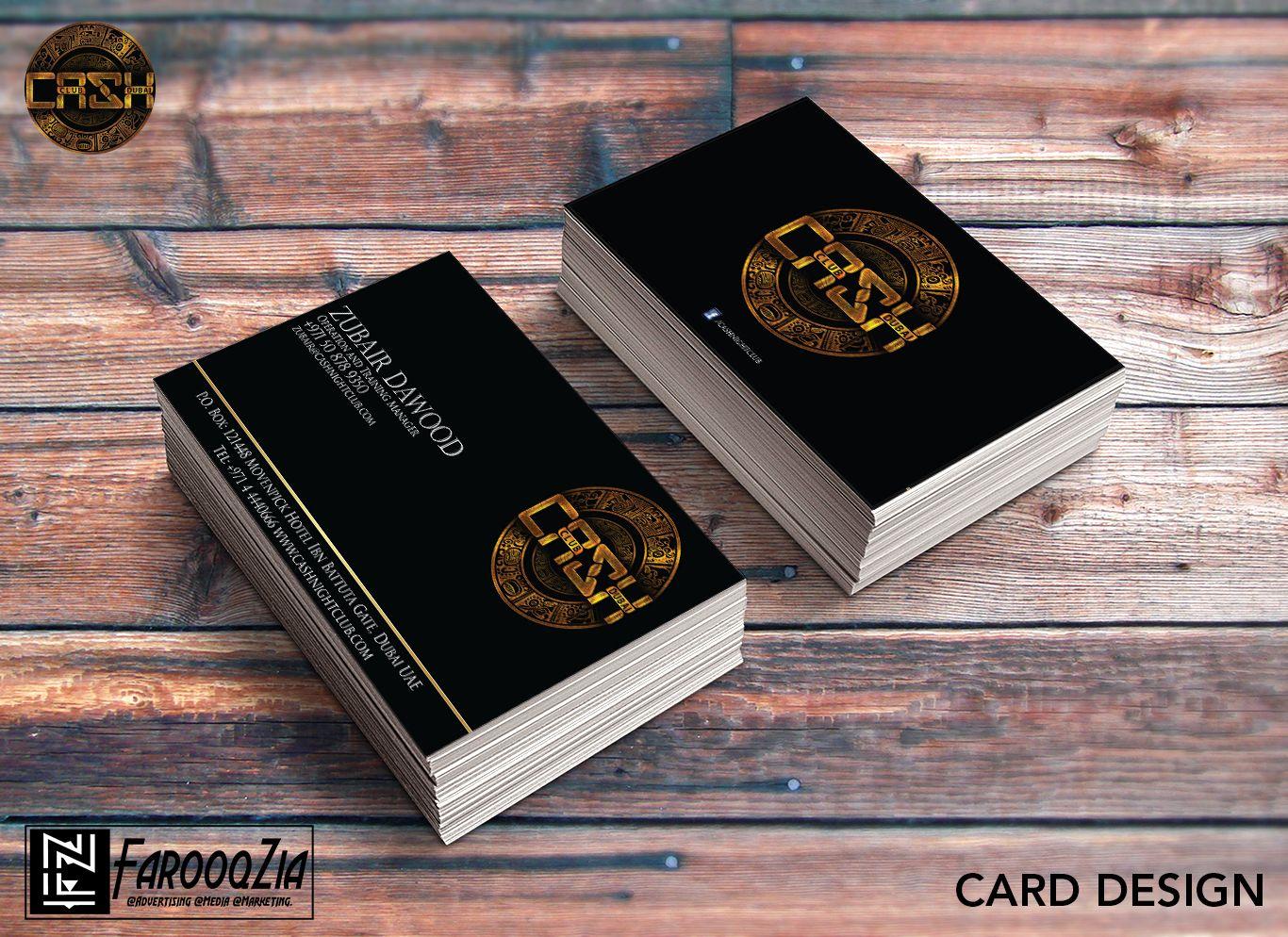 Client Name Cash Night Club Website Http Www Cashnightclub Com Business Card Mock Up Discount Card Card Design
