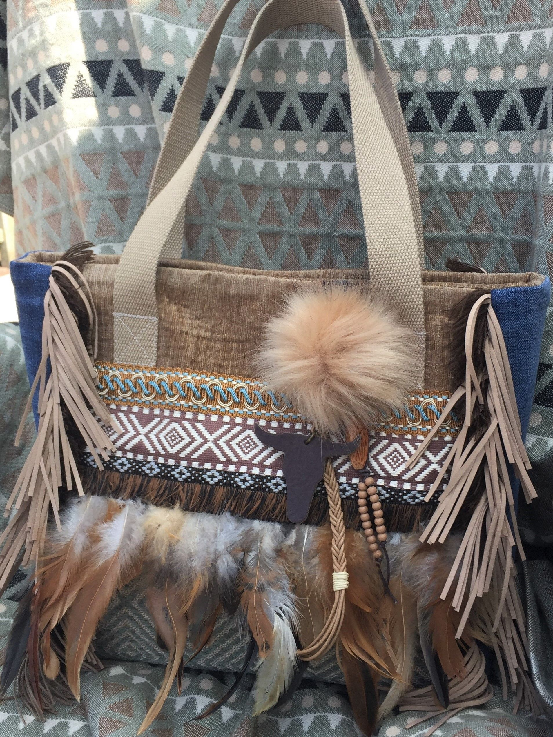 Style FeathersCountry Great In Tote With Western Bag vwOmN8n0