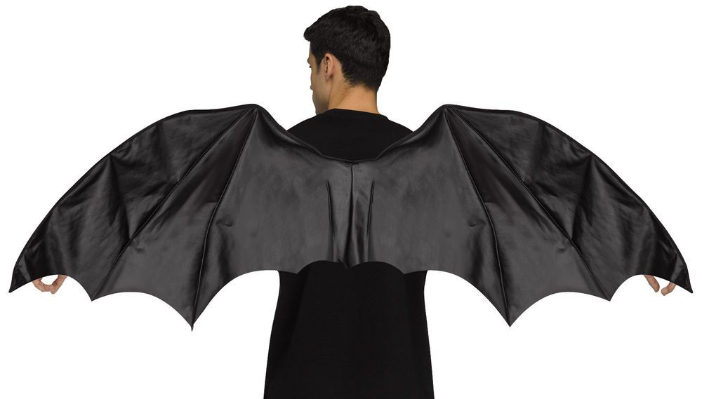 93bfd38c7 Details about Adult size Black Dragon Wings Costume Accessory ...