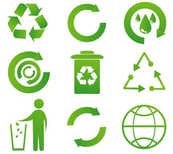 Recycle Icon Recycle Logo Recycling Process Recycle Symbol