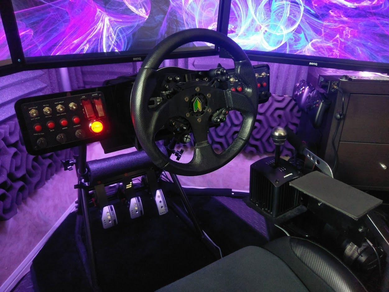 Always Evolv'n Gaming/Sim rig Battle station in 2020