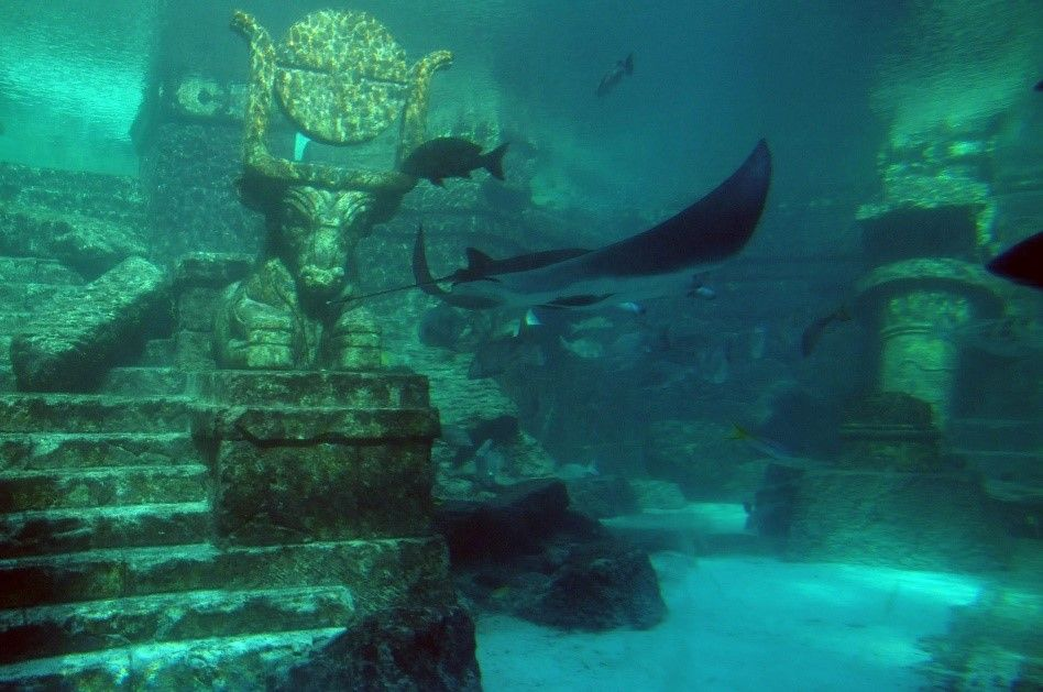 Sardinia S History Underwater City Lost City Of Atlantis Underwater Ruins