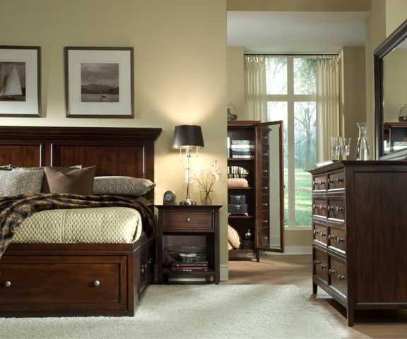 Discount Bedroom Furniture Stores: The Spencer Storage Bed Is Perfect For Adding Generous And